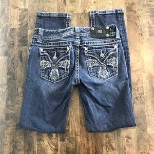 Miss Me Skinny Jeans JP5046SKR Size 29